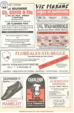 46e année - n°40 - 5 novembre 1992