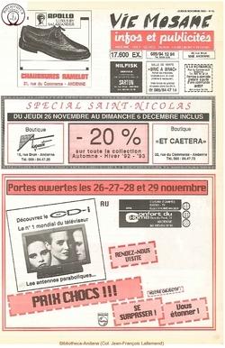 46e année - n°43 - 26 novembre 1992