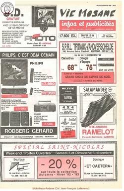46e année - n°44 - 3 decembre 1992