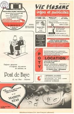 46e année - n°5 - 30 janvier 1992
