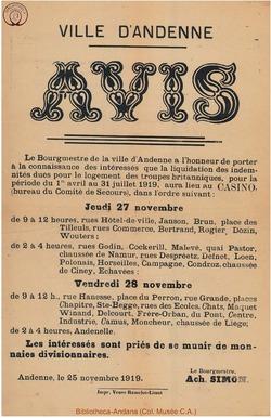 Affiche 1919-11-25