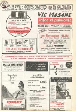 45e année - n°16 - 18 avril 1991