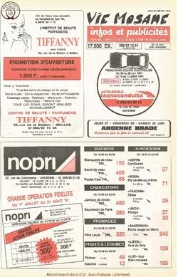 45e année - n°25 - 20 juin 1991