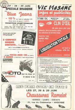 45e année - n°26 - 27 juin 1991