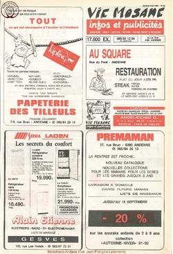 45e année - n°30 - 22 août 1991