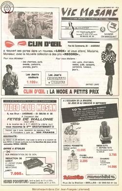 45e année - n°34 - 19 septembre 1991