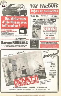 45e année - n°36 - 3 octobre 1991