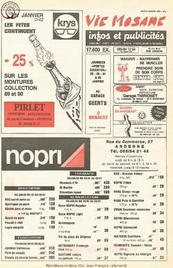 45e année - n°4 - 24 janvier 1991