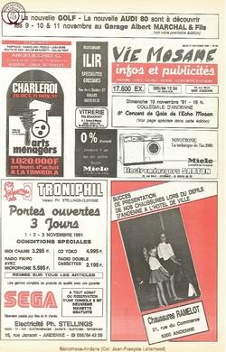 45e année - n°40 - 31 octobre 1991