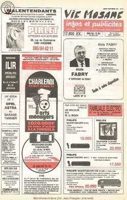 45e année - n°41 - 7 novembre 1991