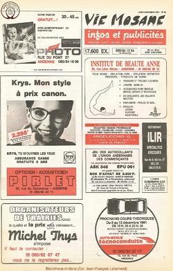 45e année - n°45 - 5 decembre 1991
