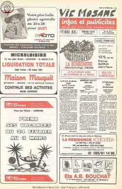 45e année - n°8 - 21 fevrier 1991