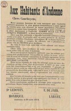Affiche 1914-08-30