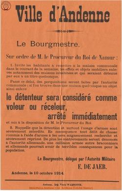 Affiche 1914-10-10