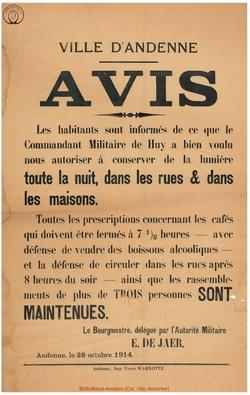 Affiche 1914-10-28