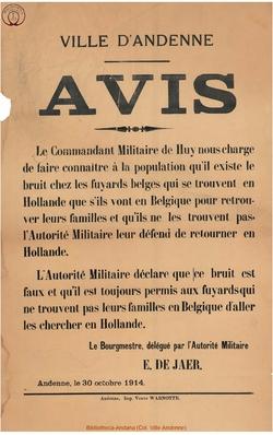 Affiche 1914-10-30