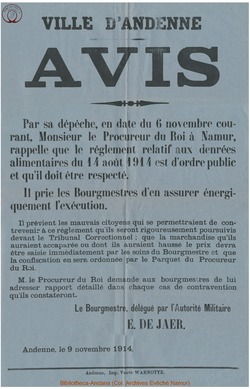Affiche 1914-11-09