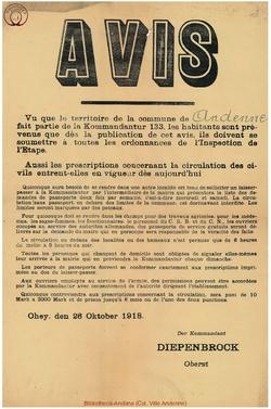 Affiche 1918-10-26