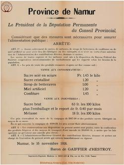 Affiche 1918-11-16