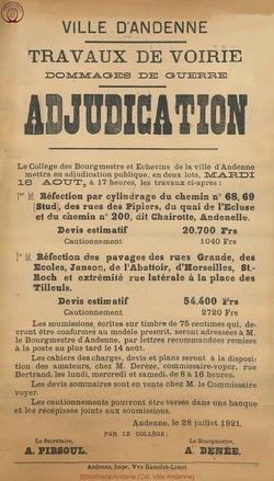 Affiche 1921-07-28