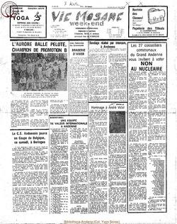 33e annee - n30 - 25 aout 1978