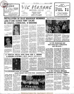 33e annee - n38 - 20 octobre 1978