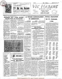 33e annee - n5 - 3 fevrier 1978