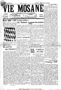 4e annee - n129 - 8 avril 1949