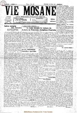 4e annee - n131 - 22 avril 1949