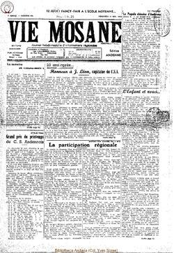 4e annee - n135 - 20 mai 1949