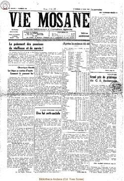 4e annee - n136 - 27 mai 1949