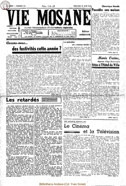 4e annee - n138 - 10 juin 1949