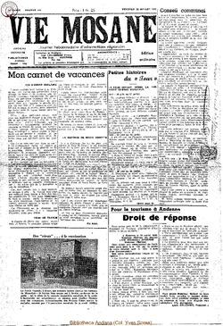 4e annee - n144 - 22 juillet 1949