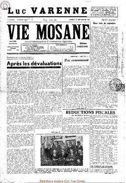 4e annee - n152 - 24 septembre 1949