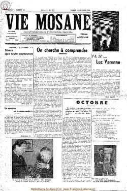 4e annee - n155 - 15 octobre 1949