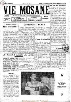 4e annee - n156 - 22 octobre 1949
