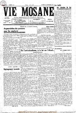 4e annee - n161 - 26 novembre 1949