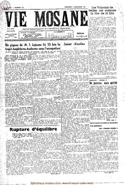 4e annee - n162 - 2 decembre 1949