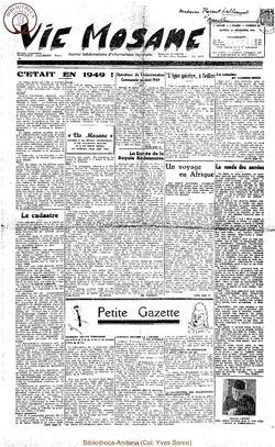 4e annee - n167 - 31 decembre 1949