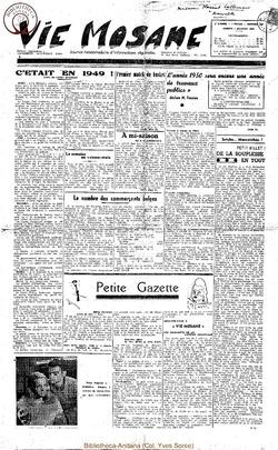 5e annee - n168 - 7 janvier 1950
