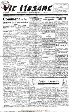 5e annee - n178 - 18 mars 1950