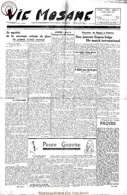 5e annee - n181 - 8 avril 1950