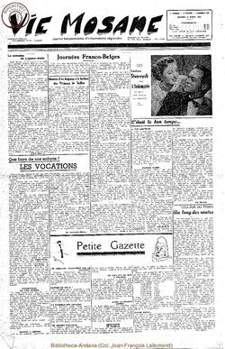 5e annee - n182 - 15 avril 1950