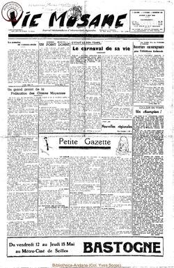 5e annee - n185 - 6 mai 1950