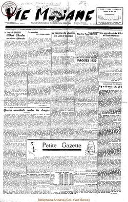 5e annee - n187 - 20 mai 1950