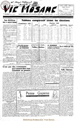 5e annee - n189 - 3 juin 1950
