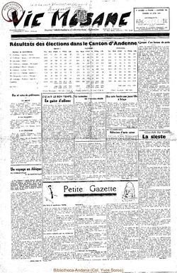 5e annee - n190 - 10 juin 1950