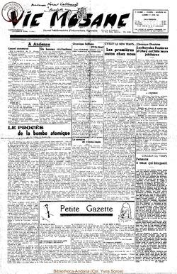 5e annee - n191 - 17 juin 1950