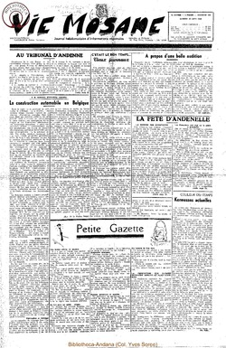 5e annee - n192 - 24 juin 1950