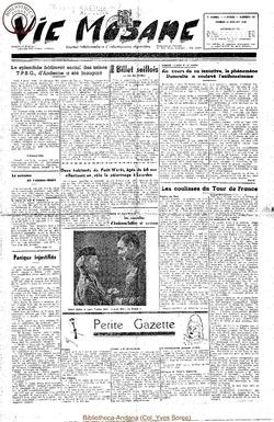 5e annee - n195 - 15 juillet 1950